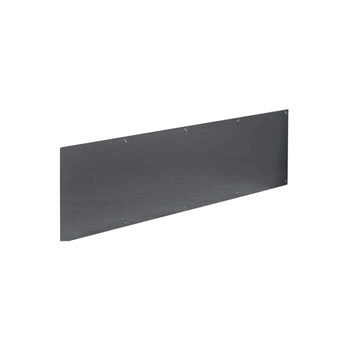Door Kickplate 600mm x 695-940mm Countersunk Visible Fix Stainless Steel 1.2mm