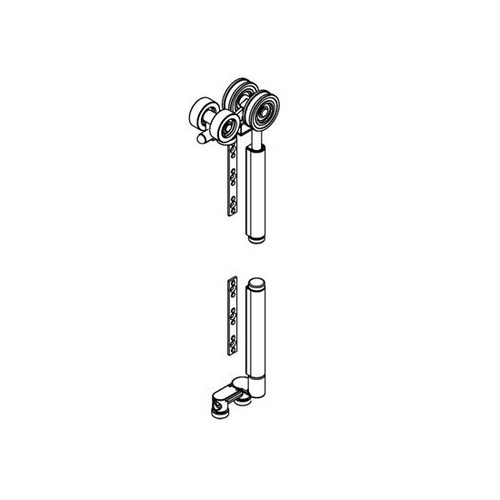 Brio End Hanger Set BWS2100S+ For Weatherfold 4S 100KG Stainless Steel Bearing