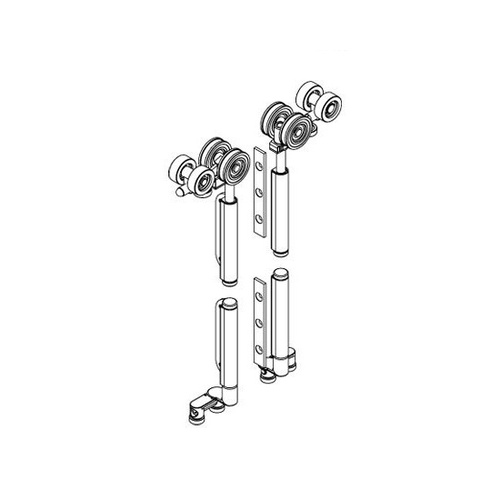 Brio Meeting Rebate Set BWS8-100C For Weatherfold 4s 100KG Chrome Steel Bearing