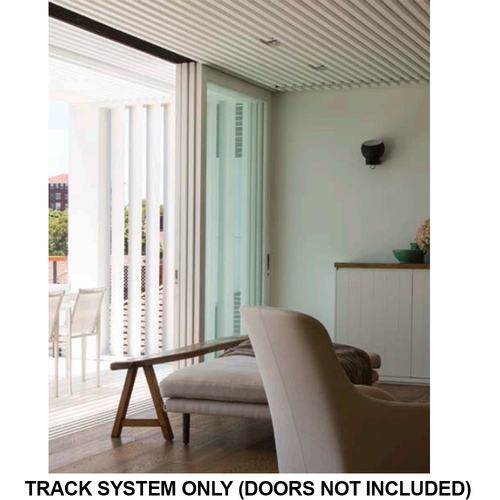 Brio Zero Clearance ZC100+ Sliding Door System for 100KG Top Hung Panels
