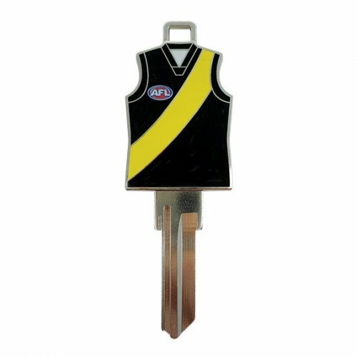 AFL House Key AFLJERLW4RT Richmond Tigers Guernsey Jersey LW4
