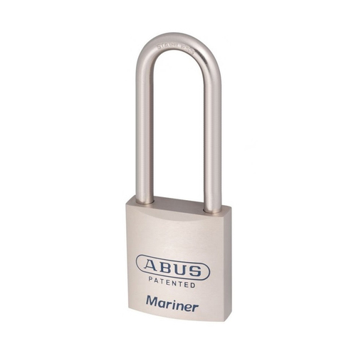 ABUS 83MAR/45 Security Padlock 83MAR45NKD Mariner Marine Grade 75mm SS Shackle